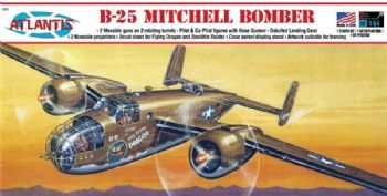 B-25 Michell Bomber 1:64 Scale Model Kit